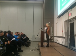 Abbotsford Councillor Patricia Ross speaks to goal 15 - Environmental Sustainability