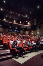 VanCity Theatre was full for the event, both the main floor and the balcony