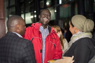 Some attendees were walk-ins, some of them former residents of Kakuma