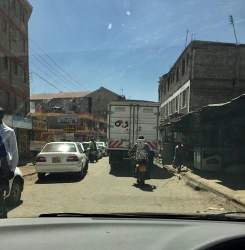 traffic nairobi