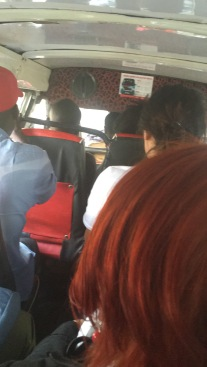 My first Matatu ride